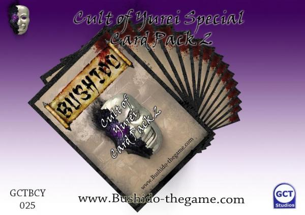 Bushido Miniatures: (Cult Of Yurei) Card Pack 2