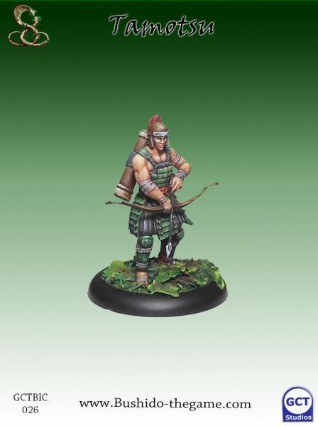 Bushido Miniatures: (Ito Clan) Tamotsu