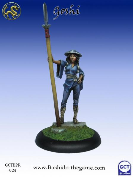 Bushido Miniatures: (Prefecture Of Ryu) Female Goshi