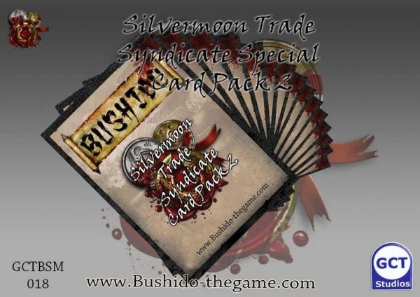 Bushido Miniatures: (Silvermoon Trade Syndicate) Card Pack 2