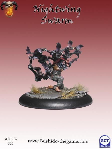 Bushido Miniatures: (Savage Wave) Nighwing Swarm