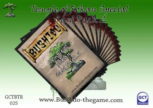 Bushido Miniatures: (Temple Of Ro-Kan) Card Pack 2