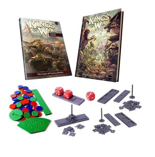 Kings Of War, 2nd Edition: Limited Deluxe Rules Set