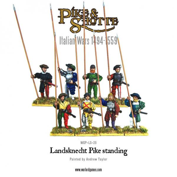 (Italian Wars) Landsknecht Pikemen Standing