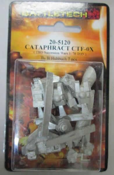 BattleTech Miniatures: Cataphract CTF-0X (XTRO Succession Wars 1)