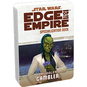 Edge of the Empire RPG: Signature Abilities Specialization Deck - Gambler