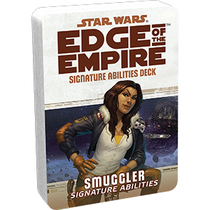 Edge of the Empire RPG: Signature Abilities Specialization Deck - Smuggler