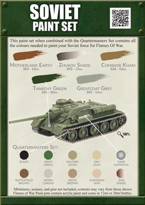 Colours Of War: Soviet Paint Set