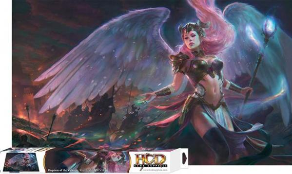 Gaming Accessories: Requiem of the Valkyrie 24''x14'' Game Mat & Box