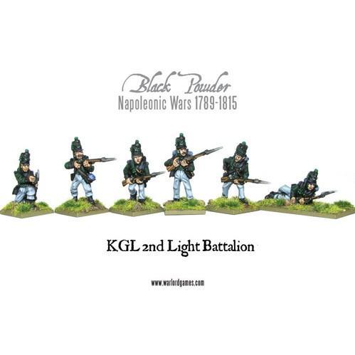KGL 2nd Light Battalion - Blister