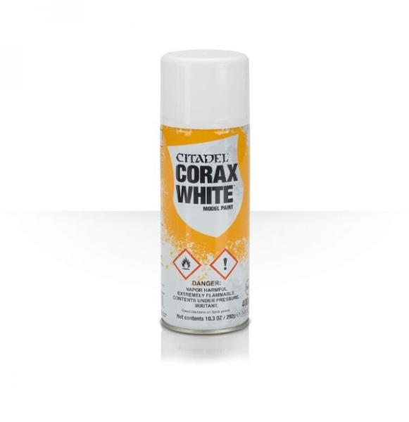 Citadel Spray Primer: Corax White