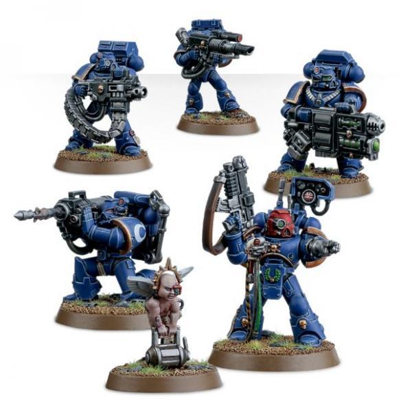 Warhammer 40K: Space Marine Devastator Squad