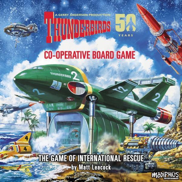Thunderbirds : A Co-operative Board Game