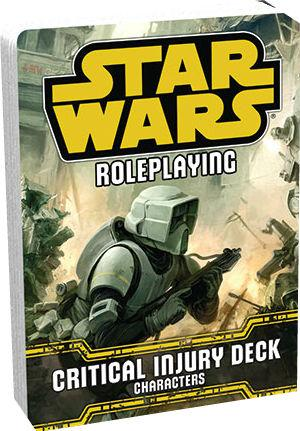 Star Wars RPG: Critical Injury Deck