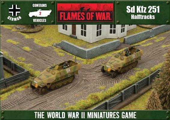 Flames of War: Sd Kfz 251 (2-Pack Box Set)