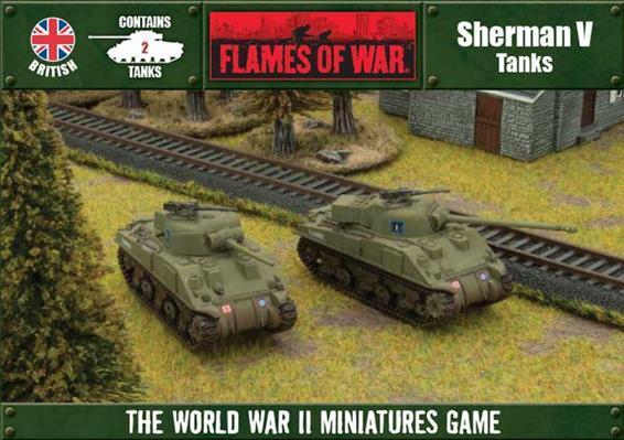 Flames of War: Sherman V (Box) (2-Pack Box Set)