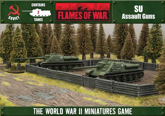 Flames of War: SU-85 / SU-100 (2-Pack Box Set)