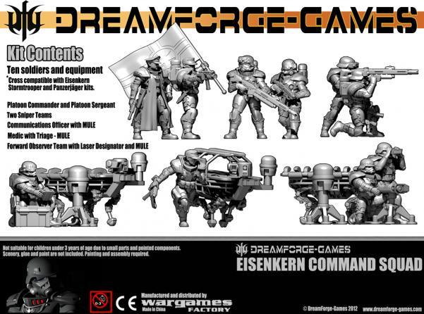 Eisenkern Command Squad