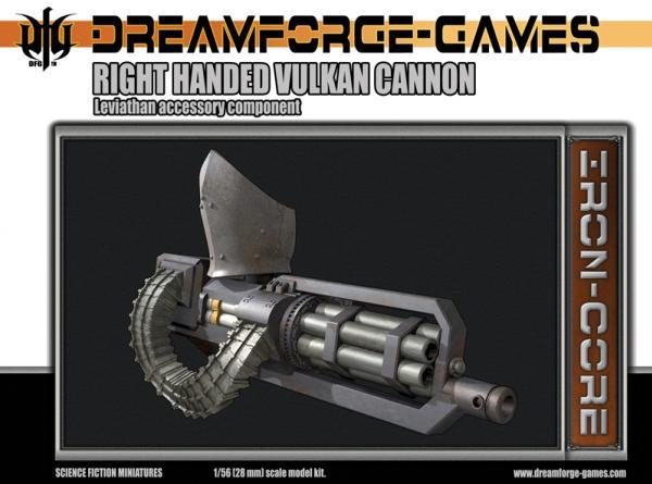 28mm Right Hand Vulkan Cannon