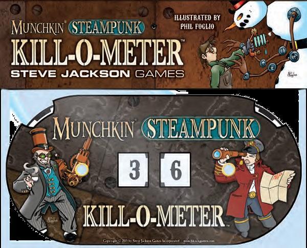Munchkin: Steampunk Kill-O-Meter