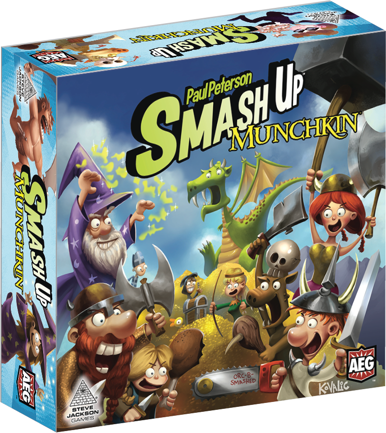 Smash Up: Munchkin (Expansion)