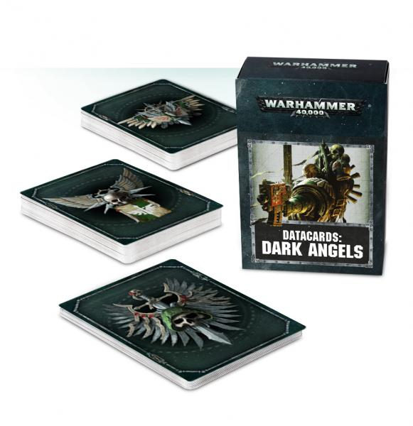 Warhammer 40K: Dark Angels Datacards