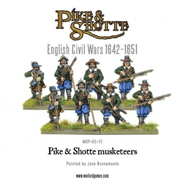 28mm Pike & Shotte - Musketeers