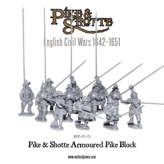 28mm Pike & Shotte - Armoured Pike Block