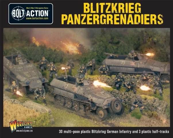 Bolt Action: (German) Blitzkreig Panzergrenadiers