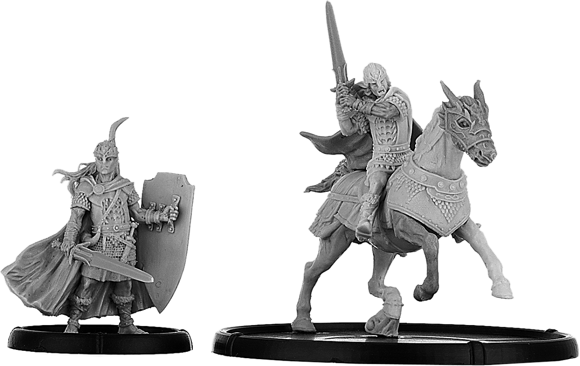 Darklands: Urien, Teyrn of Mon on Foot and on Horse