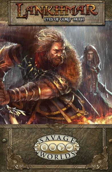 Savage Worlds RPG: Lankhmar - GM Screen w/The Eyes of Goro'mosh Adventure