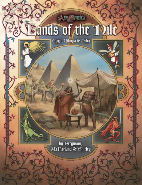 Lands Of The Nile: Sourcebook Of Mythic Egypt (HC)
