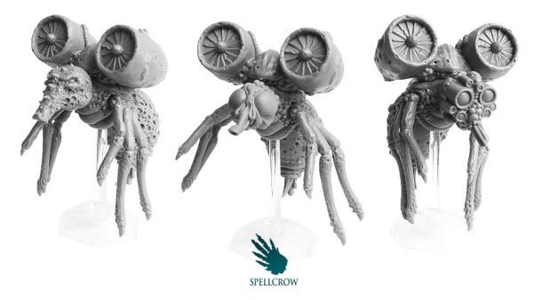 28mm Sci Fi - Plague Legions: Plague Flies