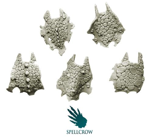 28mm Sci-Fi -  Salamanders / Dragons cloaks
