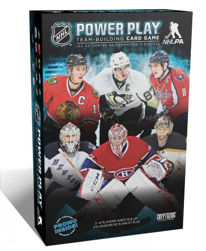 NHL Power Play Team Building Card Game