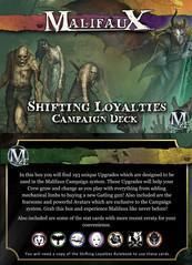 Malifaux: Shifting Loyalties Campaign Deck