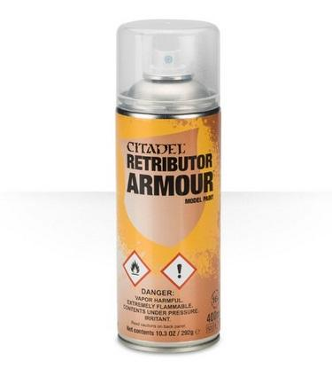 Citadel Spray Primer: Retributor Armour