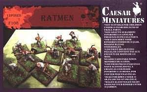 Caesar Miniatures: Ratmen