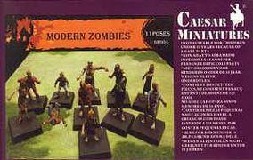 Caesar Miniatures:  Modern Zombies