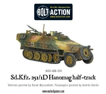 (German) Sd.Kfz 251/1 Ausf D Hanomag