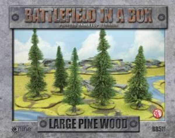 Battlefield In A Box: Large Pine Wood (x1) - 30mm