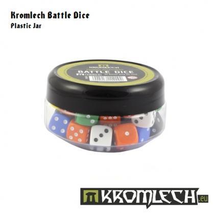 Kromlech Accessories: Battle Dice 35x Red 12mm