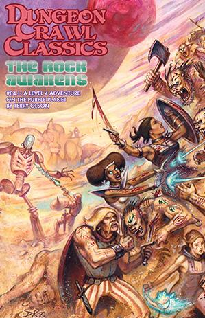 Dungeon Crawl Classics RPG: (Adventure) #84.1 The Rock Awakens