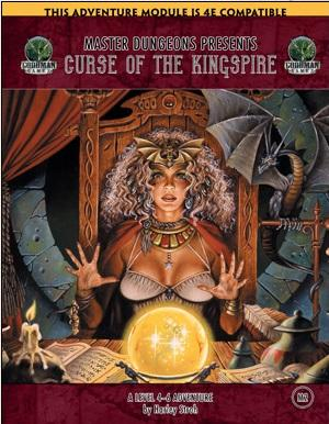 Dungeon Crawl Classics RPG: (Adventure) #88.5 Curse Of The Kingspire