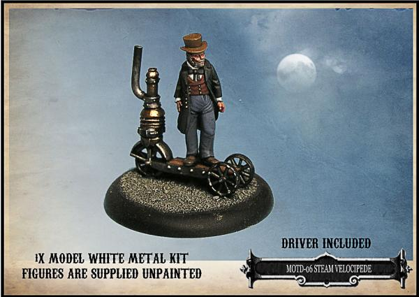 Empire of the Dead:  Steam Velocipede - EotD Steampunk Machine