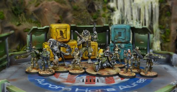 Infinity (#540) Ariadna: USAriadna Army Pack