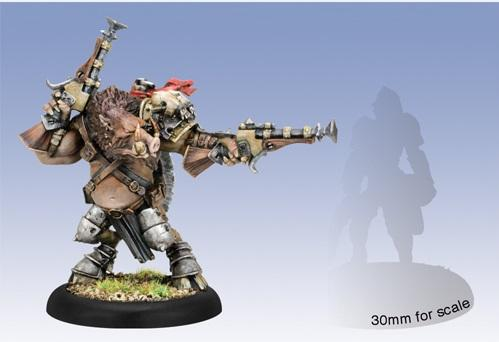 Hordes: (Minions) Farrow Brigand Warlord (metal)