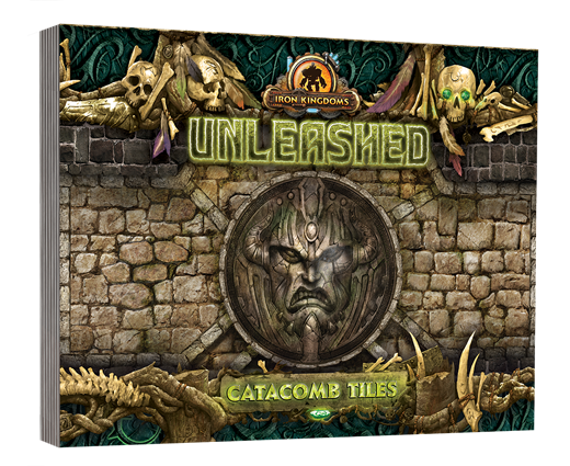 Iron Kingdoms Unleashed RPG: Catacomb Tiles