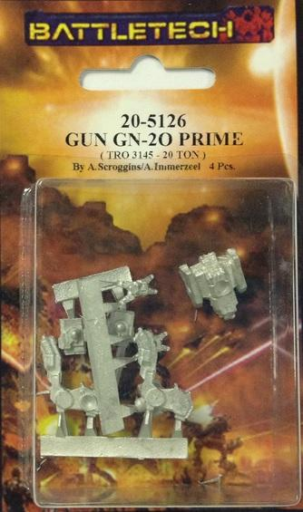 BattleTech Miniatures: Gun Prime GN-2O (TRO 3145)