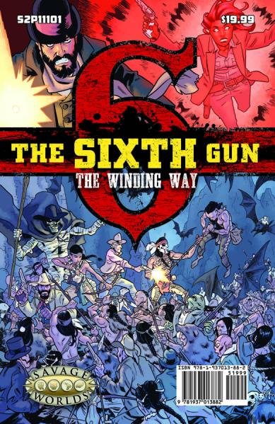 Savage Worlds RPG: The Sixth Gun GM Screen w/Adventure